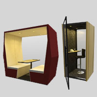 Pods & Booths